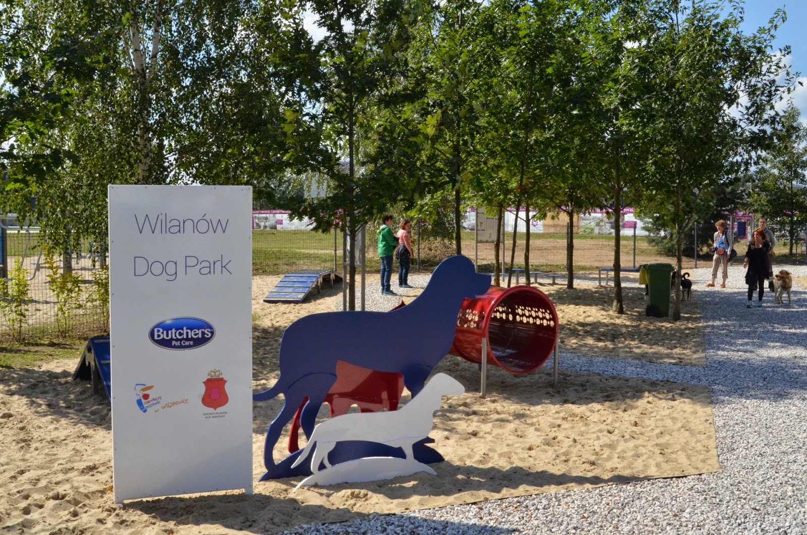 Otwarcie Wilanów Dog Park